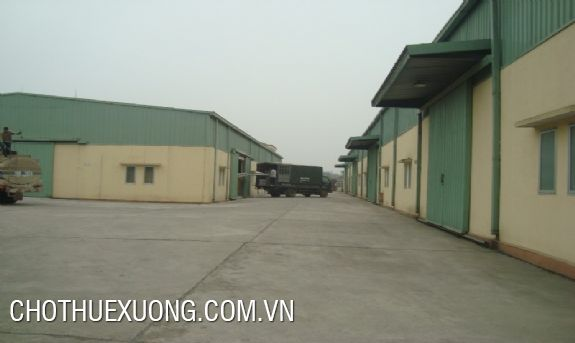 9000sqm warehouse for lease in Thai Binh city