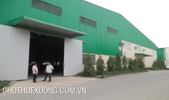Warehouse for lease in Phuc Khanh industrial zone, Thai Binh