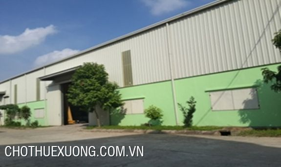 Warehouse for lease in Phuc Yen, Vinh Phuc
