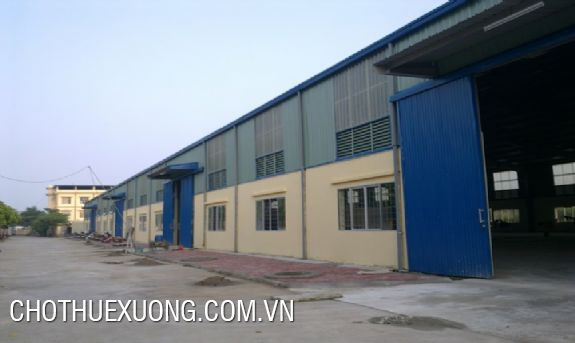 Warehouse for rent in Hai Duong city