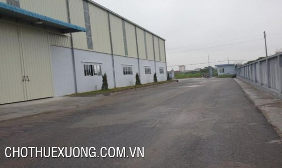Warehouse for lease in Phuc Dien industrial zone, Hai Duong