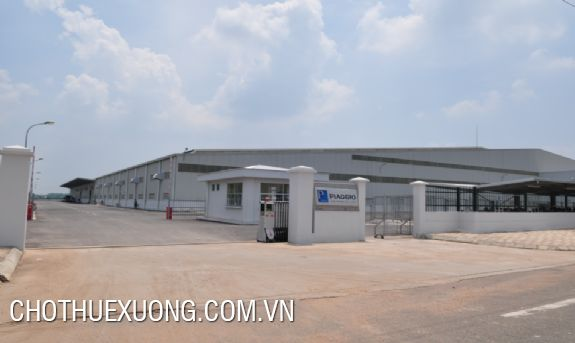 Land and factory for lease in Binh Xuyen industrial zone