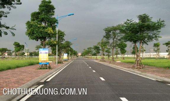 Land for rent in Nhu Quynh, Hung Yen