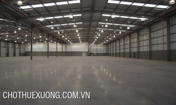 Warehouse for lease in My Hao, Hung Yen