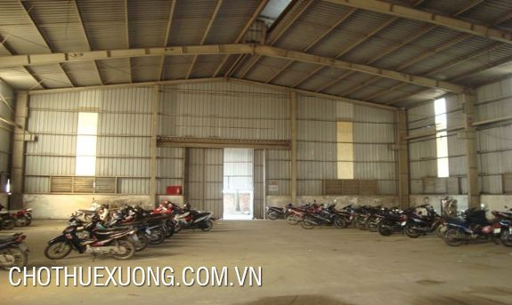 Warehouse for lease in Nhu Quynh industrial zone, Hung Yen