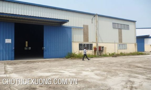 Warehouse for lease in Van Lam, Hung Yen