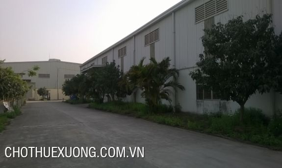 Warehouse for lease in Tan Truong industrial zone, Hai Duong