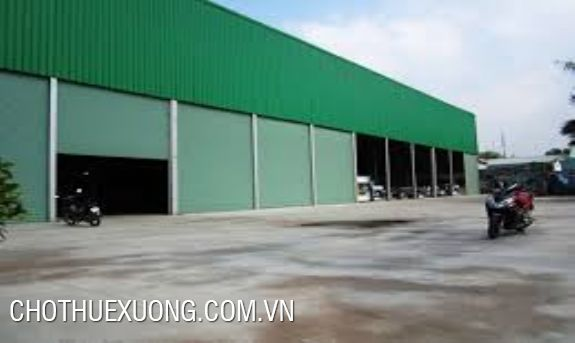 Land and factory for lease in Tu Son industrial zone, Bac Ninh