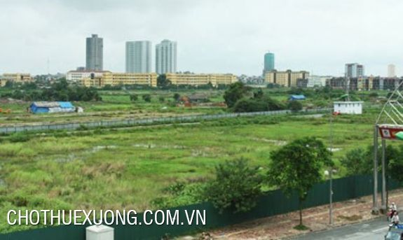 Land for rent in Le Van Luong, Thanh Xuan, Ha Noi