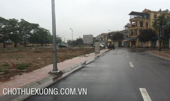 Land for lease in My Dinh, Tu Liem, Ha Noi