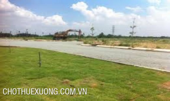 Land for lease in Thanh Oai industrial zone, Ha Noi