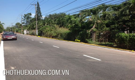 5000sqm land for sale in Phu Nghia industrial zone