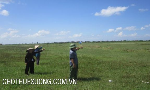 Land for rent on national road 5, Hai Duong city