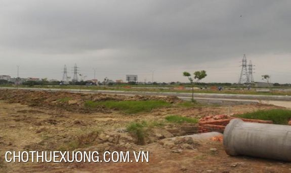 Land for sale near national road 5, Hai Duong