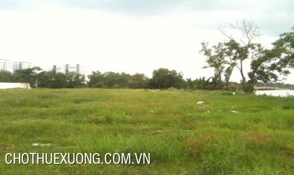 Vacant land for lease in Thanh Tri, Hanoi cheap price
