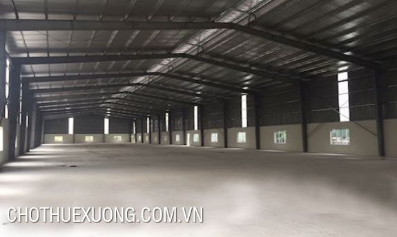 1200sqm factory for lease in Pha Lai, Chi Linh, Hai Duong