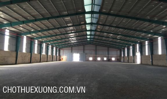 860sqm factory for lease in Kim Binh industrial zone, Phu Ly, Ha Nam