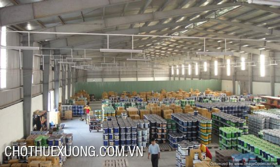 2000sqm factory for rent in Lai Vu industrial zone, Kim Thanh, Hai Duong
