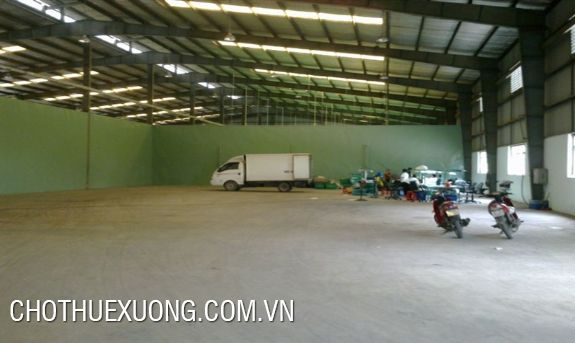 1100sqm factory for lease in Phuc Tho, Ha Noi, near the national road No. 32