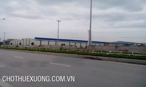 2500sqm factory for rent in Le Mon industrial zone, Thanh Hoa