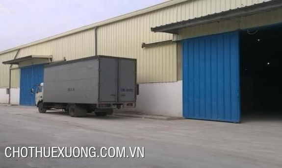 Nice factory for rent in Binh Xuyen industrial zone, Vinh Phuc