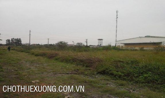8000sqm industrial land for sale in Binh Xuyen, Vinh Phuc