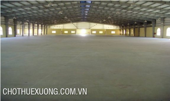 6000sqm factory for rent in Thuy Van industrial zone, Viet Tri, Phu Tho