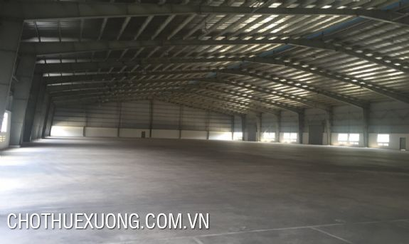 2000sqm factory for rent in Thuy Van industrial zone, Viet Tri, Phu Tho