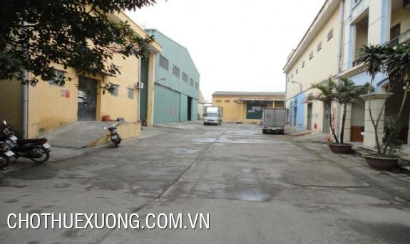 1200sqm warehouse for rent near Quang Trung street, Ha Dong