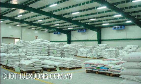 Cold-storage warehouse for rent in Duyen Thai industrial cluster, Thuong Tin, Ha Noi
