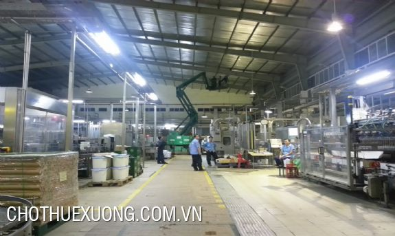 500sqm factory and 600sqm one for rent in Van Con, Hoai Duc, Hanoi
