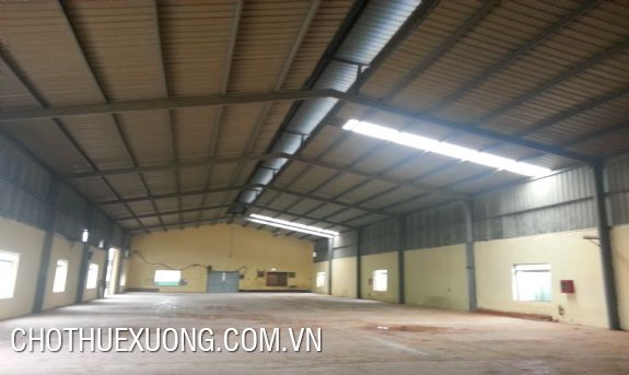 2500sqm factory for lease in the national road 5, Hai Duong