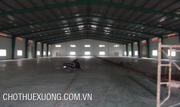 1400sqm and 2000sqm factory for lease in Le Mon industrial zone, Thanh Hoa