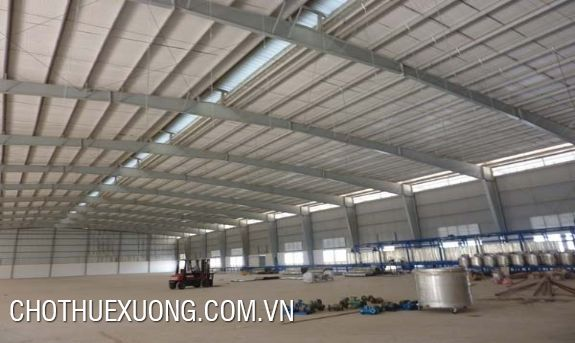 Factory for lease with an area from 500sqm to 1000sqm in Hoai Duc, Hanoi