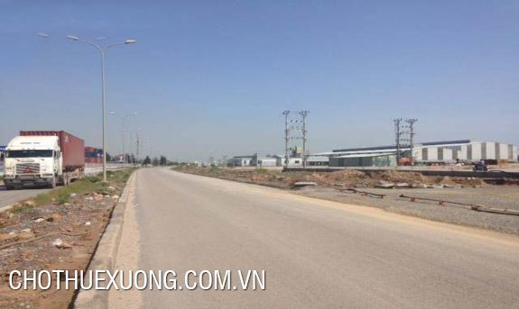 4600sqm land for sale in Khai Son industrial zone, Thuan Thanh 3, Bac Ninh