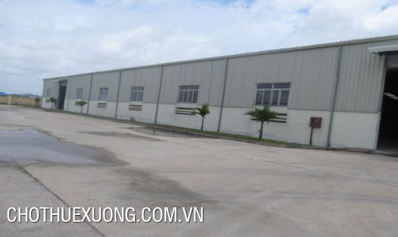 4600sqm factory for lease in Khai Son industrial zone, Thuan Thanh 3, Bac Ninh