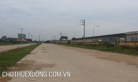 Factory for lease near Yen Nghia bus station, Ha Dong, Hanoi