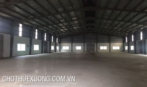 2200sqm factory for lease in Khai Son industrial zone, Thuan Thanh, Bac Ninh