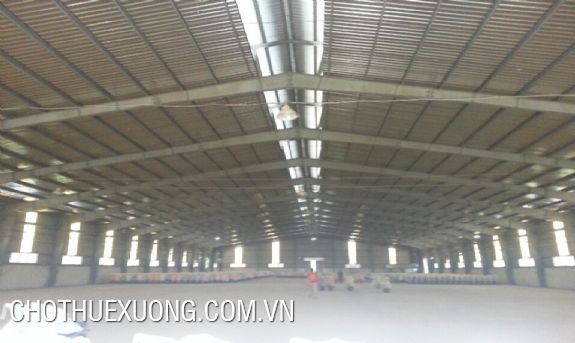 Factory/warehouse for lease in Binh Xuyen, Vinh Phuc at best price