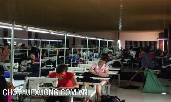 700sqm textile factory for lease in Thanh Hoa