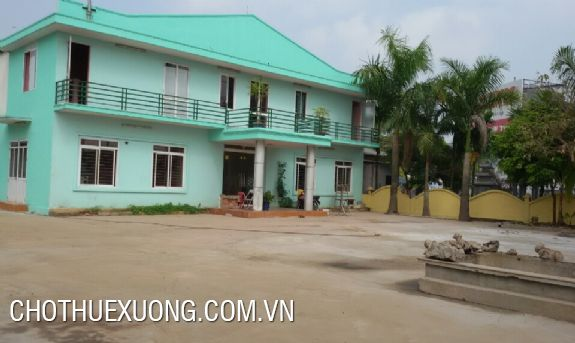 Factory for lease near the national road No. 5 in Hai Duong city