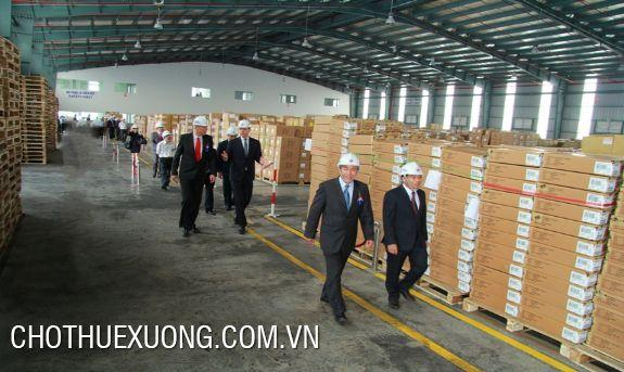 Factory/warehouse for lease near Cong Cau port, Hai Duong city