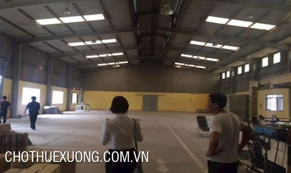 Warehouse for lease in An Khanh, Hoai Duc, Ha Noi