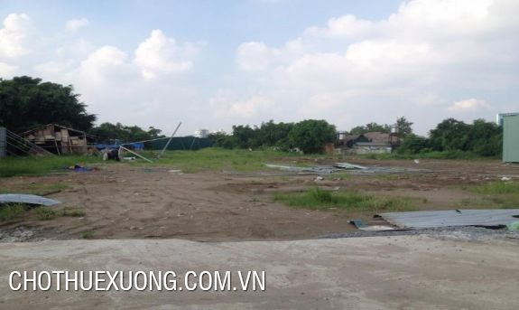 1000sqm vacant land for lease in Bien Giang, Ha Dong, Ha Noi