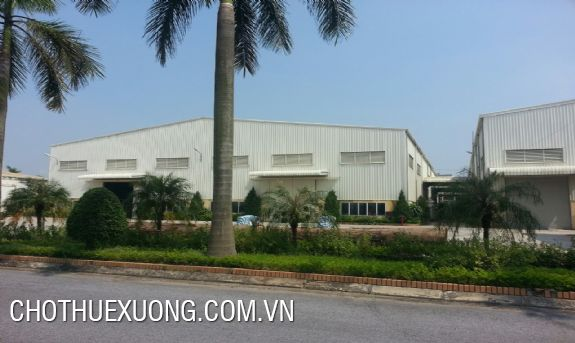 4600sqm factory for rent in Tu Son industrial cluster, Bac Ninh