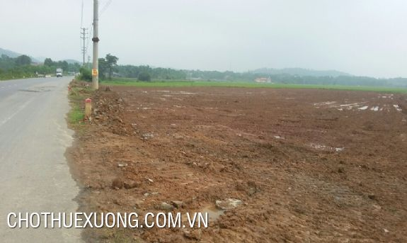 Vacant land for lease in Thanh Oai industrial zone, Hanoi