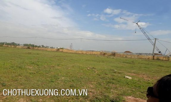 4200sqm vacant land for lease in Bien Giang, Ha Dong, Hanoi