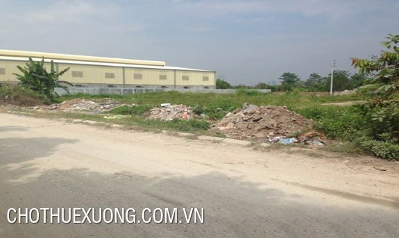 18000sqm land and factory for sale in Quoc Oai industrial cluster, Hanoi