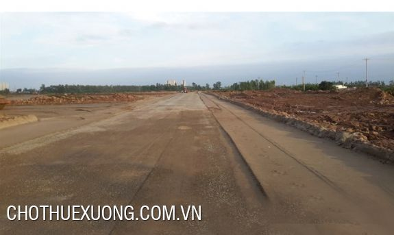 6000sqm vacant land for lease in Nguyen Khe industrial zone, Dong Anh, Hanoi