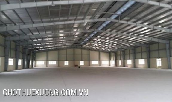 2000sqm factory for lease in Tan Truong industrial zone, Cam Giang, Hai Duong